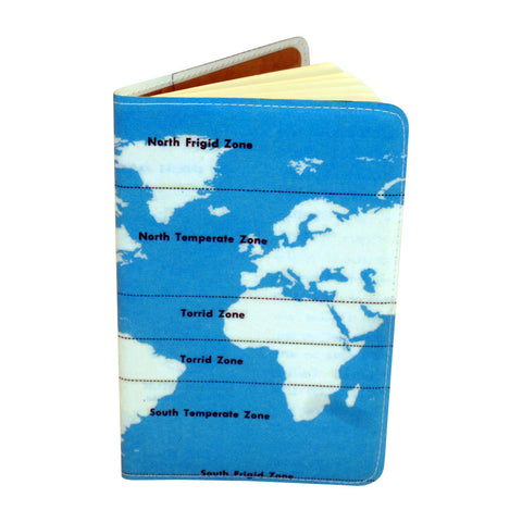 Climate Zones Map Small Moleskine Notebook Cover