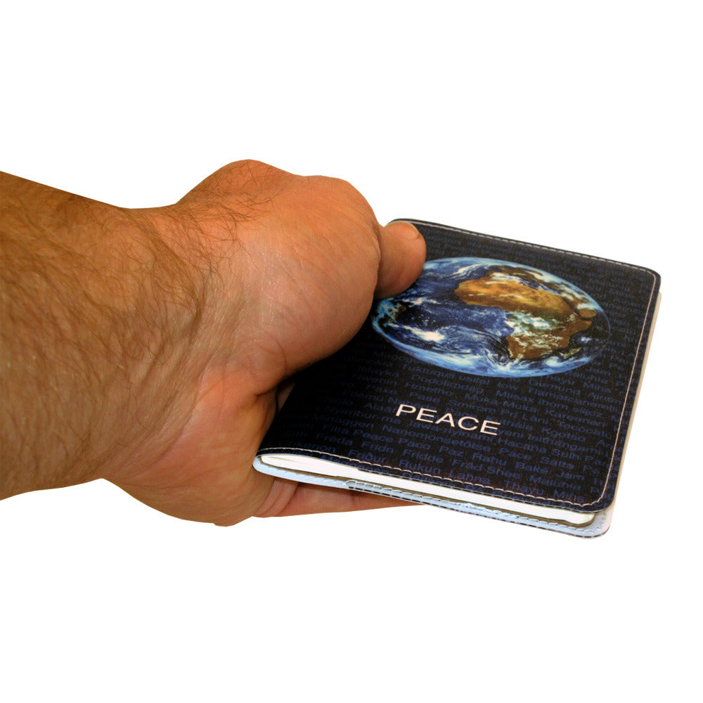 World Peace Small Moleskine Notebook Cover