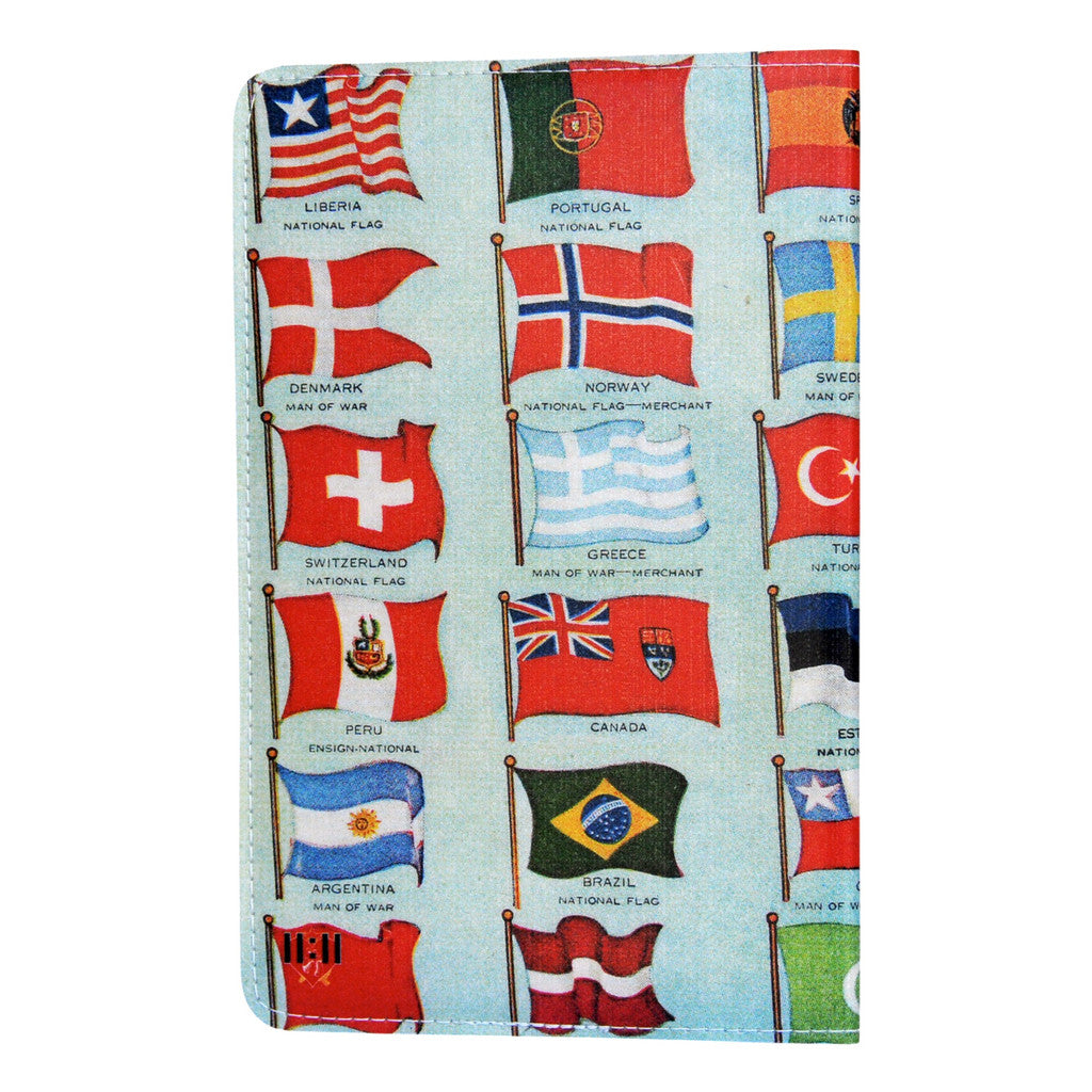 Flags of The World Covered Moleskine Notebook