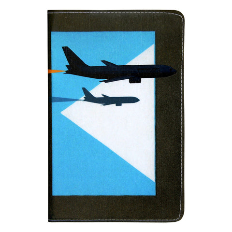 Airplane Jet Covered Moleskine Notebook