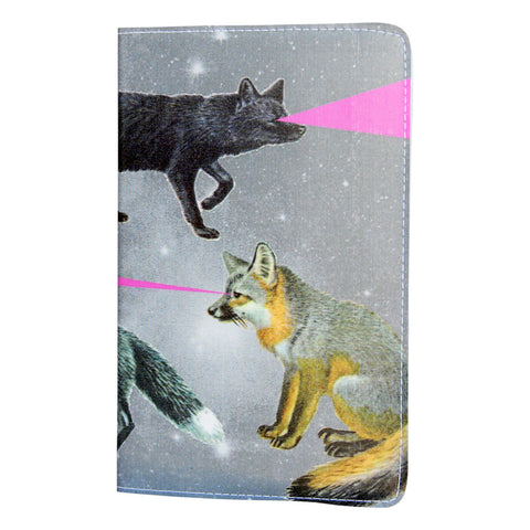 Foxy Lasers Covered Moleskine Notebook