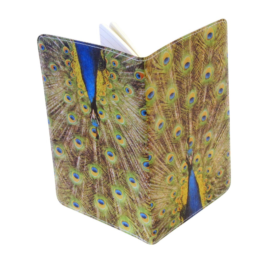 Proud Peacock Covered Moleskine Notebook