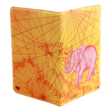Onward Pink Elephant Extra Large Covered Moleskine Notebook