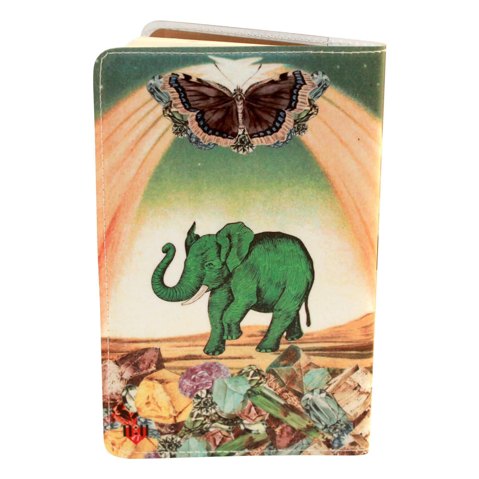 Magical Elephant Covered Moleskine Notebook