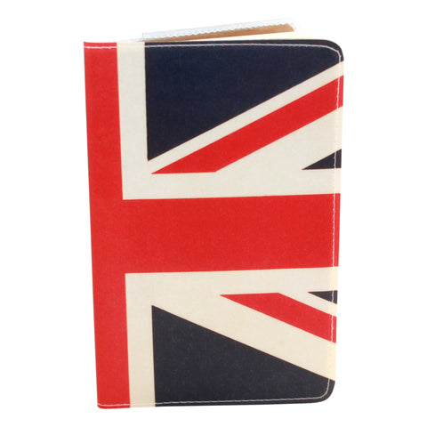 Union Jack Covered Moleskine Notebook