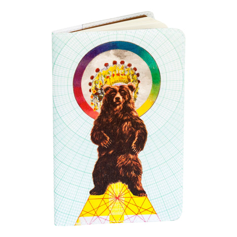 Magical Bear Large Moleskine Cahier Notebook