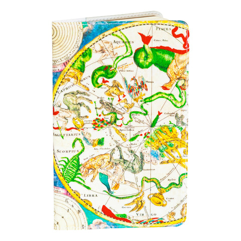 Astrological Map Small Covered Moleskine Notebook