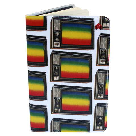 TV Rainbow Moleskine Cahier Pocket Notebook