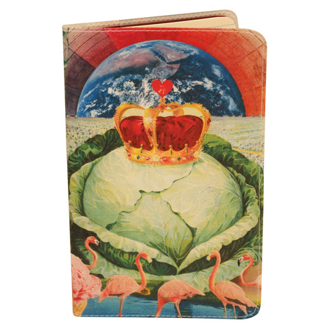Royal Cabbage Love Journal (Diary, Notebook) w/ Moleskine Cahier Pocket Cover