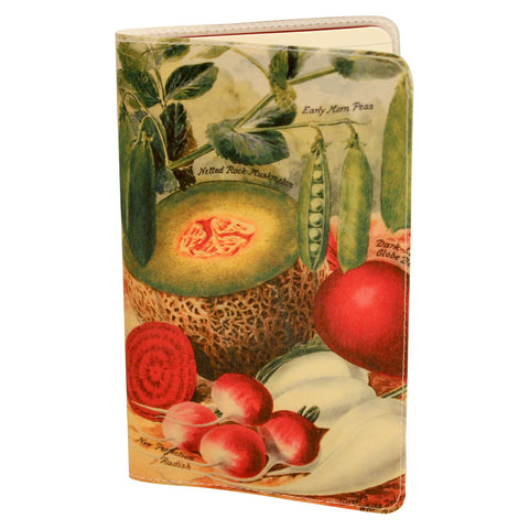 Heirloom Vegetables Journal (Diary, Notebook) w/ Moleskine Cahier Pocket Cover