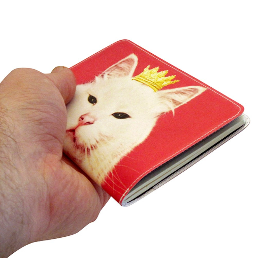 Pink Royal Kitty Covered Moleskine Notebook