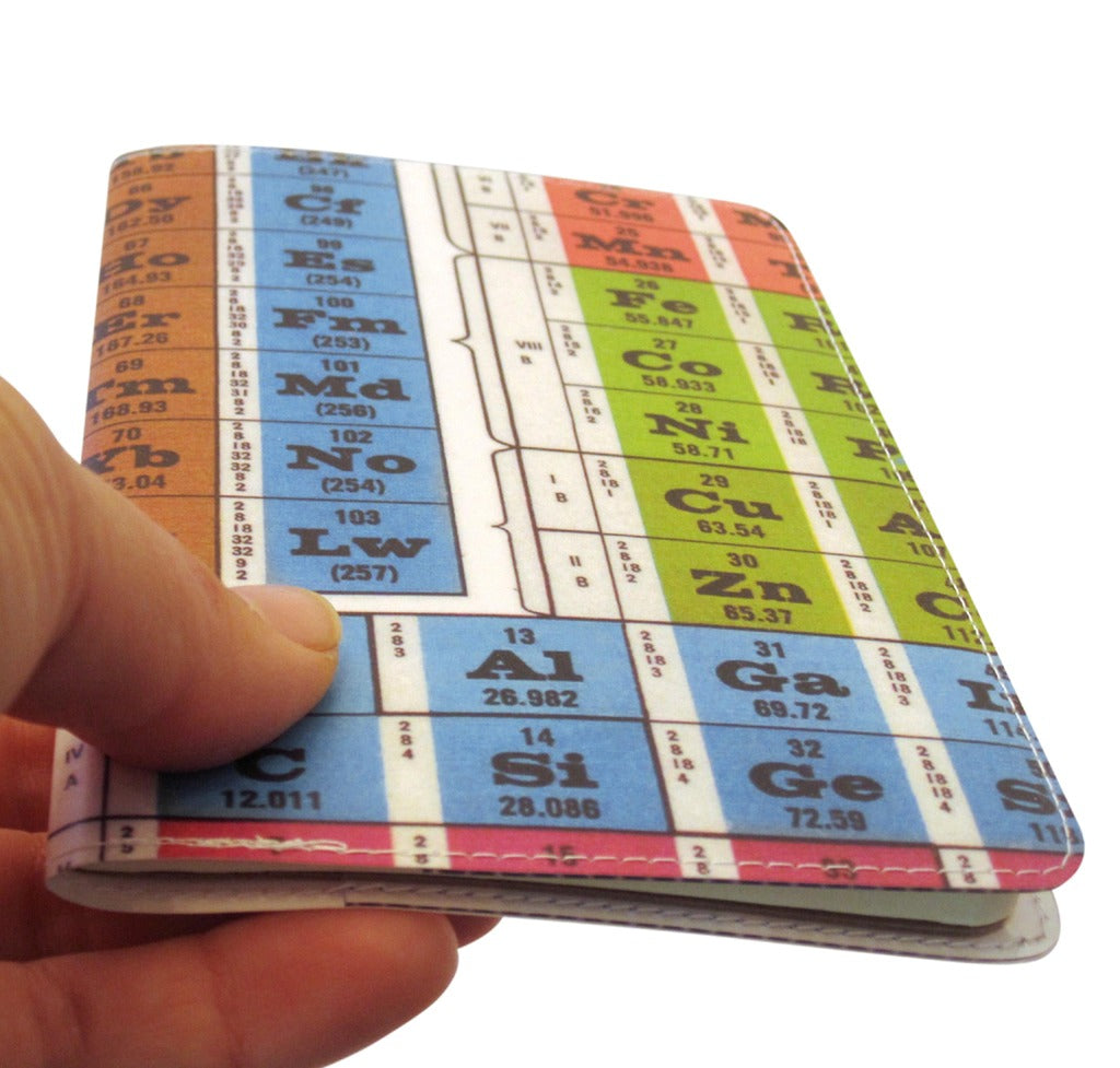 Periodic Table Covered Moleskine Notebook