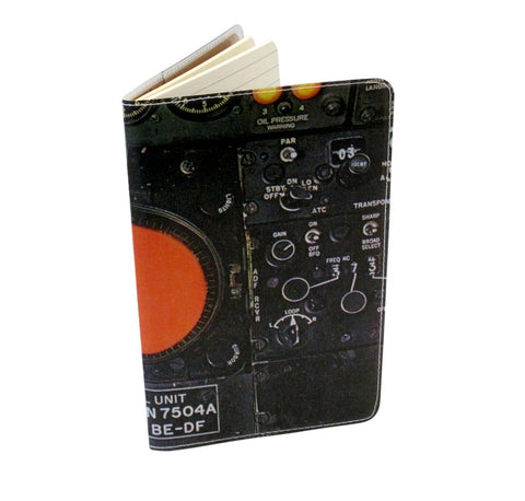 Flight Deck Covered Moleskine Notebook