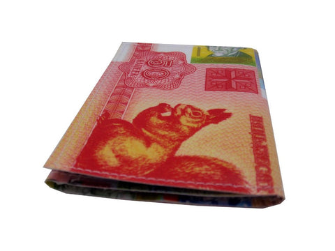 Proud Peacocks Tri-Fold Wallet