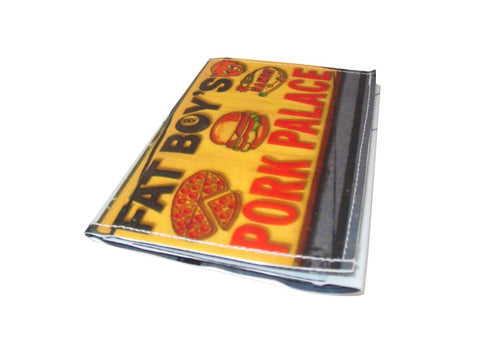 Fat Boy's Pork Palace Tri-Fold Wallet