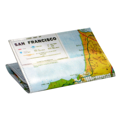 San Francisco Map Tri-Fold Wallet