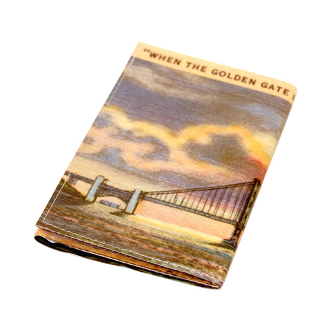 Golden Gate Vintage Tri-Fold Wallet
