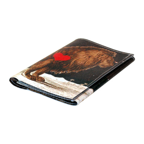 Royal Birds Tri Fold Wallet
