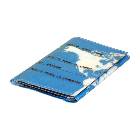 Climate Zones Map Tri-Fold Wallet