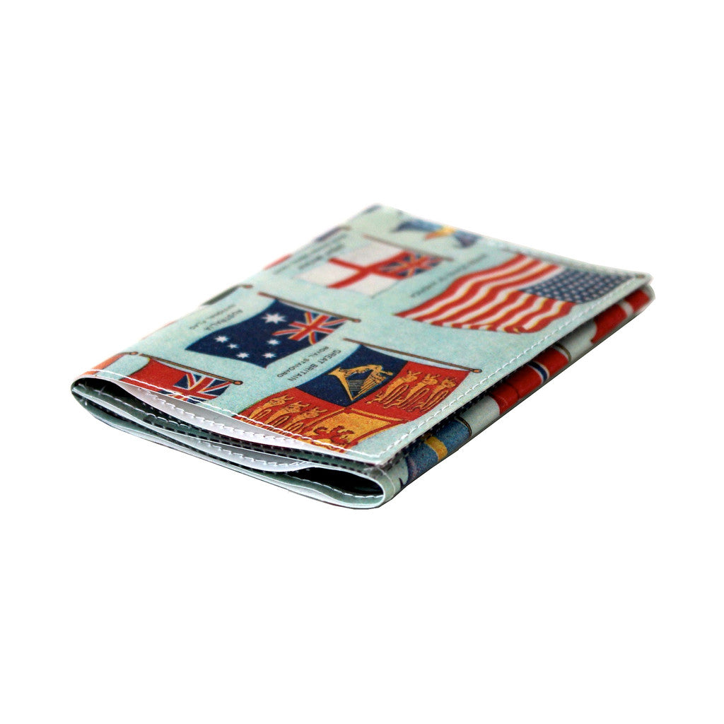 Flags of the World Tri-Fold Wallet