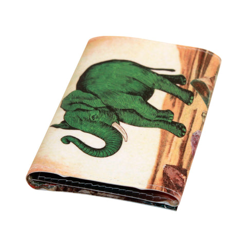 Dog Stamps Trifold Wallet