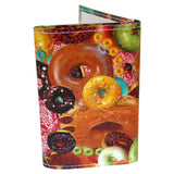 Donut Secret Collage  Tri-Fold Wallet
