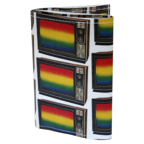TV Rainbow  Tri-Fold Wallet