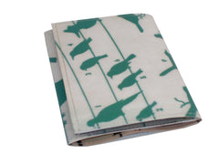 Green Birds Field Guide Tri-Fold Wallet