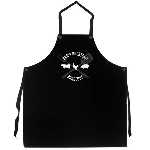 Dad's Backyard Barbeque Apron