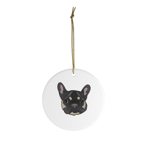French Bulldog Custom Ceramic Ornaments
