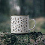 Skiers and Snowboarders Campfire Mug