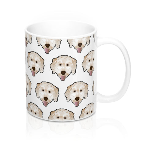 Golden Doodle Custom Ceramic Mug