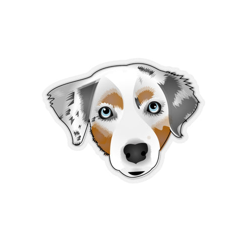 Australian Shepherd (1 Pet) Sticker