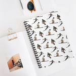 Skiers and Snowboarders Notebook