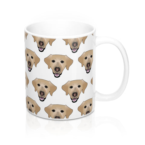 (White) Lab Custom Ceramic Mug