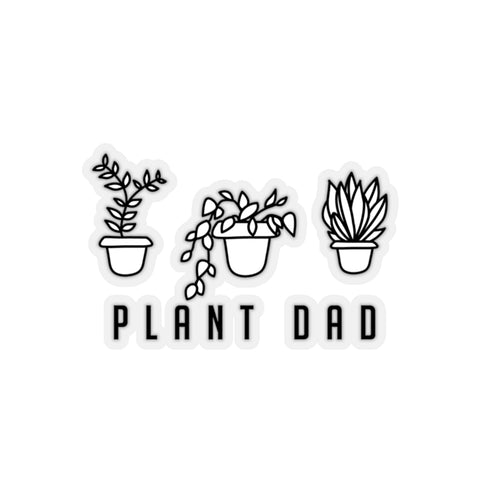 Plant Dad Stickers