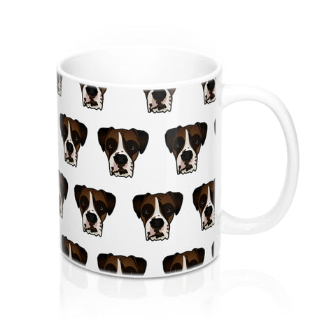 Boxer Custom Ceramic Mug