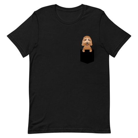 Golden Doodle Pocket T-Shirt