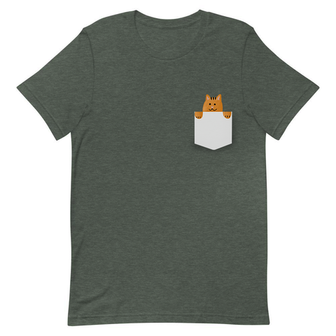 Cat in Your Pocket, Pocket T-Shirt