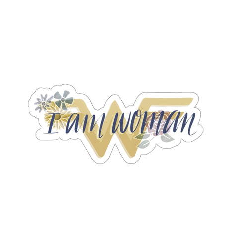 I Am Woman Sticker