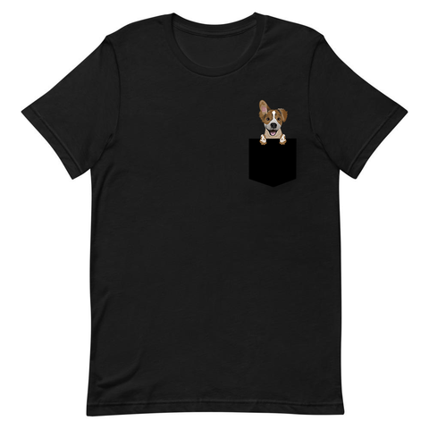#FinnLeMay (Black) Pocket T-Shirt