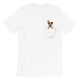 #FinnLeMay (White) Pocket T-Shirt