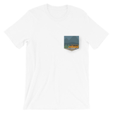 Jesus Drives an Astrovan Pocket T-Shirt