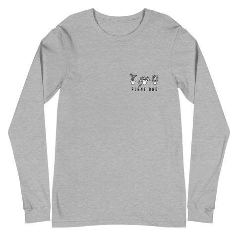 Plant Dad (Eco-Friendly) Long Sleeve Tee