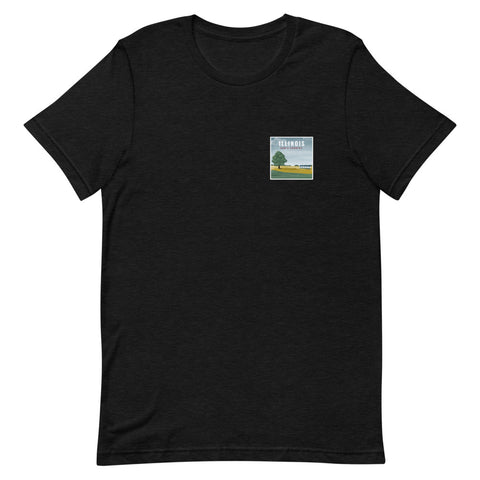 Illinois (Front + Back) Eco-Friendly T-Shirt