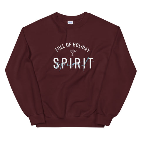 Full of Holiday Spirit Sweatshirt