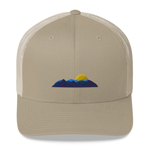 Mountain Scape Trucker Hat