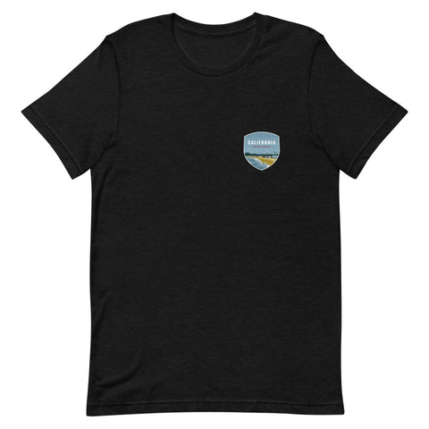 California (Front + Back) Eco-Friendly T-Shirt