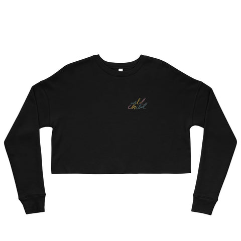 Wild Child Crop Sweatshirt