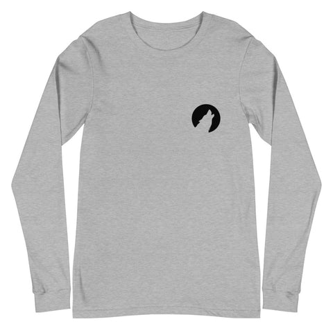 Born Wolf Designs Logo (Eco-Friendly) Long Sleeve T-Shirt